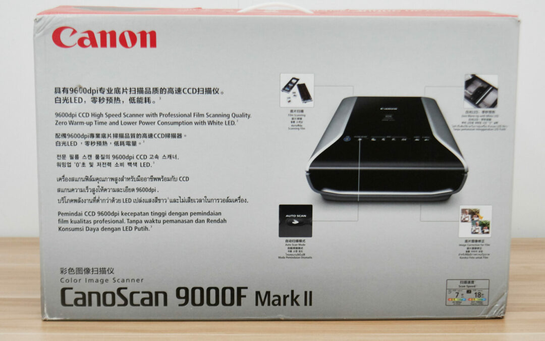 Canon CanoScan 9000F Mark II review