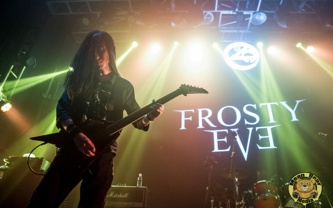 Frosty Eve playing at Ola Livehouse in Nanjing China 2019