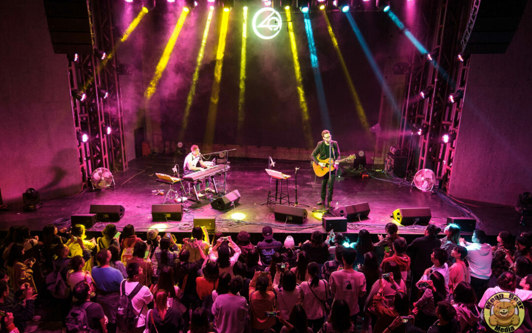 The Candle Thieves playing at Ola Livehouse in Nanjing China 2019